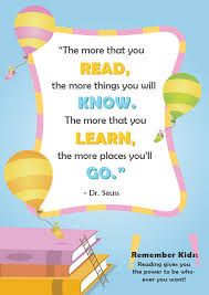 40 Dr Seuss Quotes About Reading Imagine Forest Impressive Reading Quotes For Kids