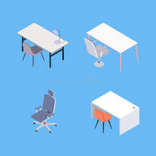 isometric office furniture vector collection. Download Isometric Office Furniture Stock Vector. Illustration Of Work - 109160386 Vector Collection I