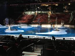 Moda Center Section 121 Row H Seat 20 Cirque Du Soleil
