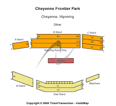 Frontier Park Seating Chart Cheyenne Frontier Days Events Seating Chart