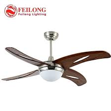 four blades single light hunter fans inch indoor ceiling fan lamp decorative with fancy orient india