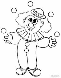 coloring book picture of pennywise the clown 49 best clowns children coloring pages clown