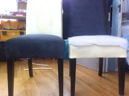 excellent diy re upholster your parsons dining chairs tips from a dining room chair