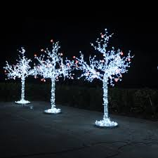 3D 2.5M LED Decoration Tree Light with 768 Steady Lights