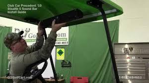 wet sounds stealth 6 sound bar install on golf cart wet sounds stealth 6 sound bar install on golf cart