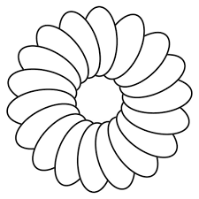 amazing free printable Marigolds flowers coloring pages for kids ...