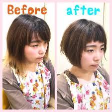 髪型が変わると顔の見え方が変わる Uih Universal Innovation Hair