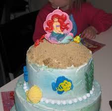 Ariel Cake Decorations Similiar Little Mermaid Cake Ideas Keywords