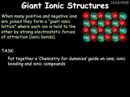 Topic 2 – Ionic Compounds and Analysis - ppt video online download