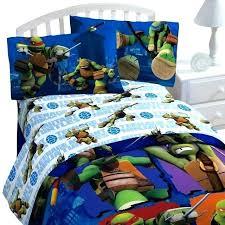 ninja turtle bedding set new nickelodeon teenage mutant turtles sheet twin toddler bed sheets tur