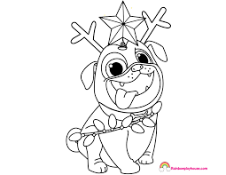 Coloring Pages For Puppies Copy Puppy Dog Pals To Simplehealthylifeco