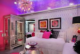 purple and silver bedroom. Brilliant And Shining Ceiling In Purple And Silver Bedroom R