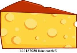swiss cheese clipart. Cartoon Wedge Of Cheese And Swiss Clipart
