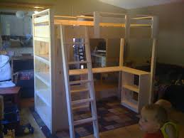 Building A Loft Bed Ana White Claires Loft Bed Diy Projects