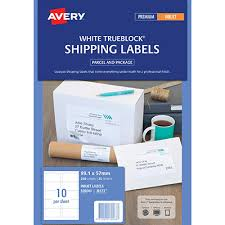 Avery 10 Per Page Labels Avery 936063 J8173 Inkjet Labels Smudge Free Parcel 10 Per