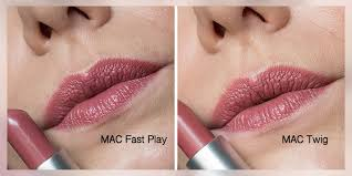 Mac Fast Play Mac Amplified Lipstick Fast Play Satin Lipstick Twig