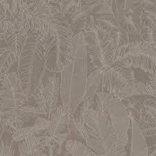 Rm Wallpaper Botanicall Bliss Taupe Wandtapete Tapeten