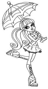 Small Picture Free Printable Monster High Coloring Pages for Kids School