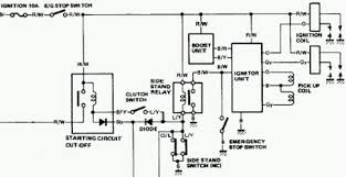 troubleshooting a bike that won t crank for some reason yamaha didn t see fit to include two components in the starting circuit diagram so here is part of the schematic