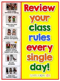 Kindergarten Classroom Behavior Chart Kindergarten Classroom Behavior Chart