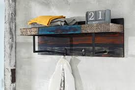 2 Hook Coat Rack Gorgeous URBAN Vintage Shabby Chic 32 Hooks Coat Rack With Storage