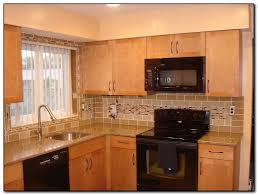 a hip kitchen tile backsplash design home and cabinet