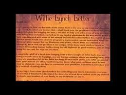 the bible we cherishwillie lynch letter youtube inside willie lynch letter