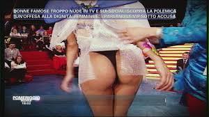 Video Pomeriggio Cinque Donne famose troppo nude GOSSIP.