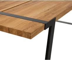 Esstisch Eiche Natur Tischplatte Tisch Eiche Massiv Tischbeine