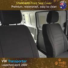 custom fit waterproof neoprene volkswagen transporter t5 t6 front seat covers