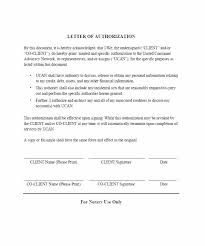 Sample Authorization Letter Free Documents In Word Format Signature ...