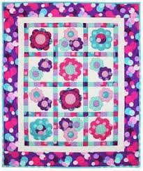 """free pattern = Oopsie Daisy quilt, ~45 x 45"""", by Erin Russek for ... & Free pattern day: Baby quilts! (part 2) Adamdwight.com"""