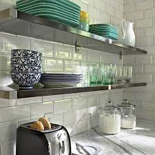 incredible home dzine kitchen shelving ideas for a stainless steel shelves stainless steel kitchen shelves52