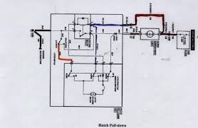 hatch pull down motor third generation f body message boards the motor itself has 2 leads that have polarity reversed on them like a window motor by this switch can you a wiring schematic