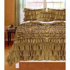 75 most superlative mocha ruffle duvet cover beautiful covers valance egyptian cotton wreycart tc silver luxury bedding super king full sets double