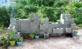 cinder block flower bed learn about using cinder blocks in your garden a concrete block raised