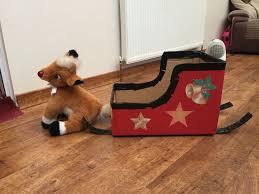 Cardboard Box Sled Design Cardboard Sleigh Christmas Fayre Ideas Christmas Fair