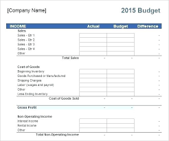 Financial Planning Sheet Excel Business Budget Planning Template Excel Free Financial