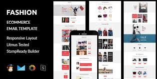 Website Builder Templates Classy Fashion Ecommerce Responsive Email Template Stampready Builder