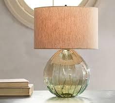 round table lamp base alana er glass table lamp base
