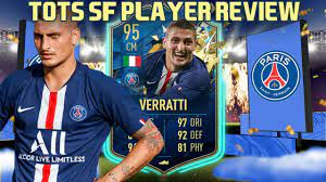 UNDERRATED BEAST! 95 TOTSSF VERRATTI PLAYER REVIEW! FIFA 20 ULTIMATE TEAM -  YouTube