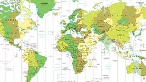 Time Map Time Zone Deviants Part I The Strangest Time Zones In The