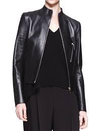 saint lau leather biker jacket 5 590 in bordeaux