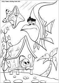 Finding Nemo Crush Coloring Pages At Getdrawingscom Free For