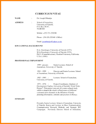 Writing A Cv And Resume Cv Cv Sample Curriculum Vitae Resume