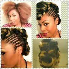 Natural Formal Hairstyles Formal Hairstyles For Hairstyles With Kanekalon Hair Natural Hair