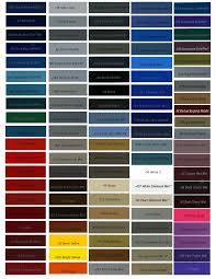 Bike Paint Colour Chart Pin By Mark Doherty On Bike Car Paint Colors Car Painting