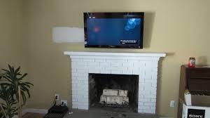 tv over fireplace mount mahbubrn me