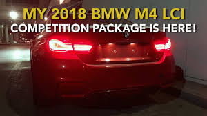 2018 bmw m4 lci. simple 2018 my 2018 bmw m4 lci competition package is here with bmw m4 lci
