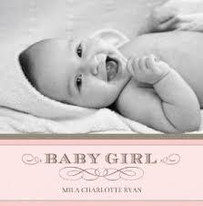 Baby Photo Album Books Baby Photo Books Classic Baby Girl By Mixbook